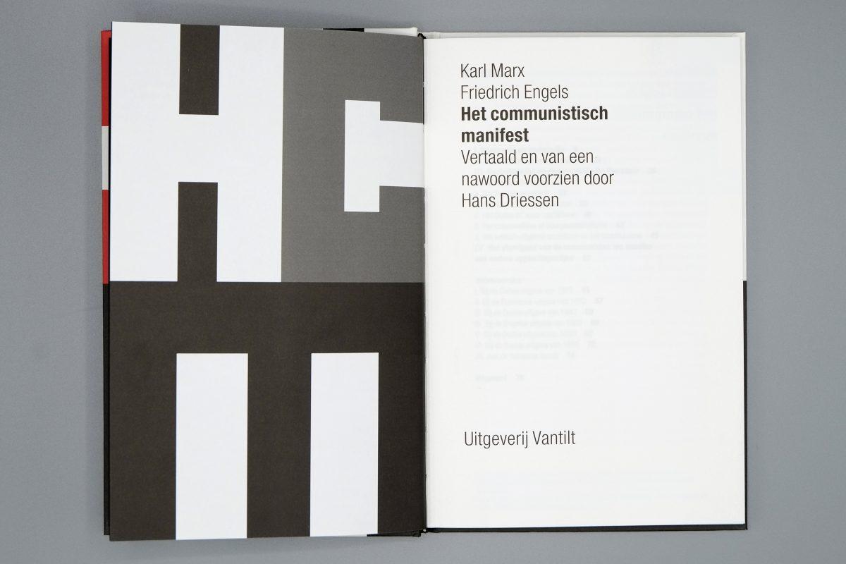 Communistisch Manifest Studio Maud Van Rossum